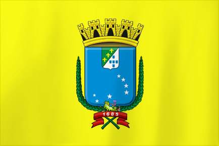 Bandeira da Cidade de S&atilde;o Lu&iacute;s-MA