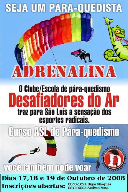 Curso de Paraquedismo em São Luís Maranhão